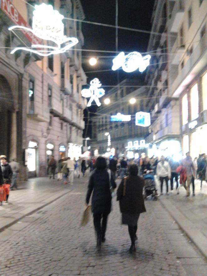 Via Roma - Naples